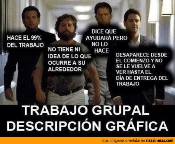 Trabajo en grupo: definición gráfica