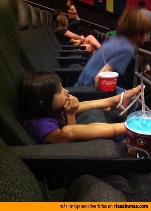 Viendo el cine