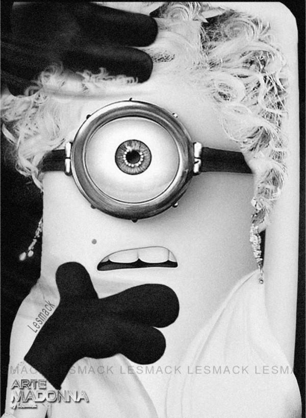 Madonna Minion: Vogue