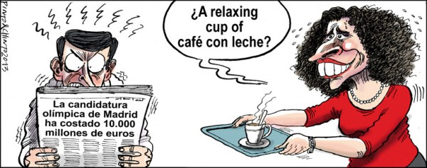 ¿A relaxing cup of café con leche?