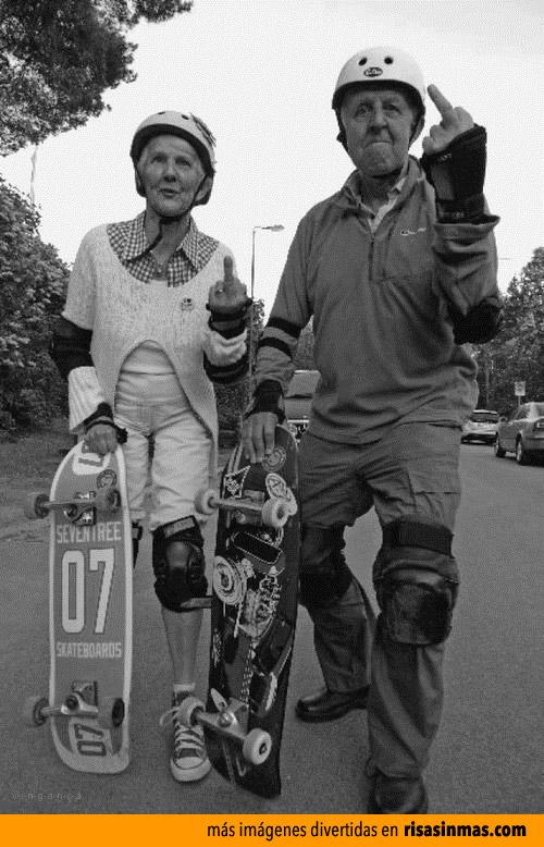 Abuelos modernos y maleducados