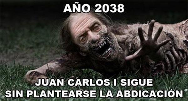 Año 2038 Juan Carlos I sigue sin abdicar