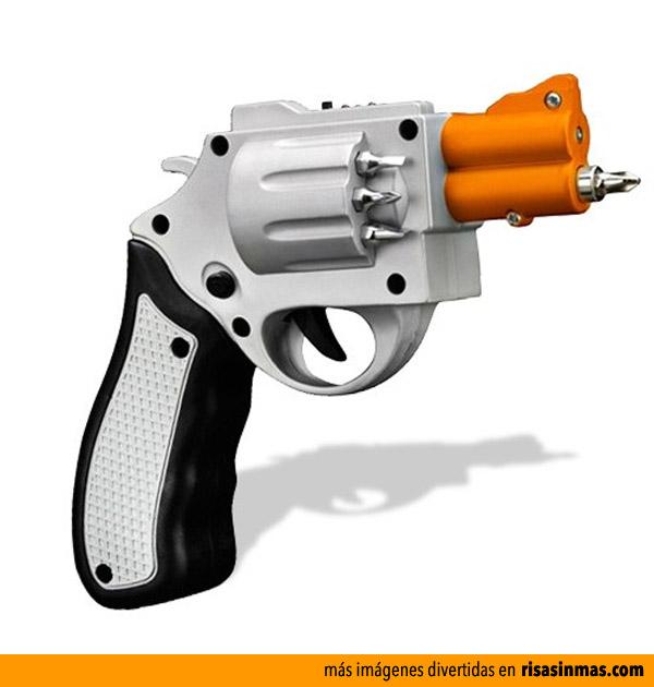 Atornilador con forma de pistola