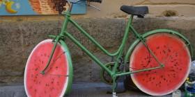 Bicicleta sandía