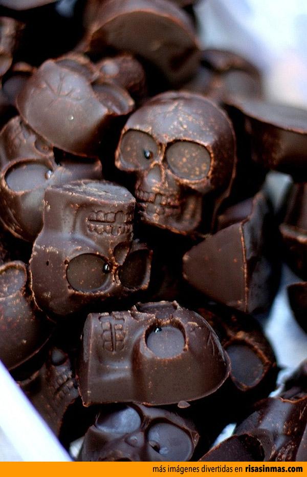 Bombones para Halloween