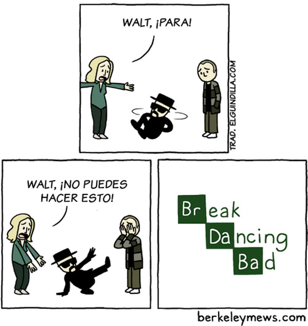Break Dancing Bad