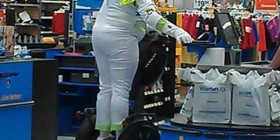Buzz Lightyear en el supermercado