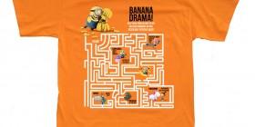 Camiseta Minions, Banana Drama!