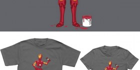 Camisetas originales: Iron Droid