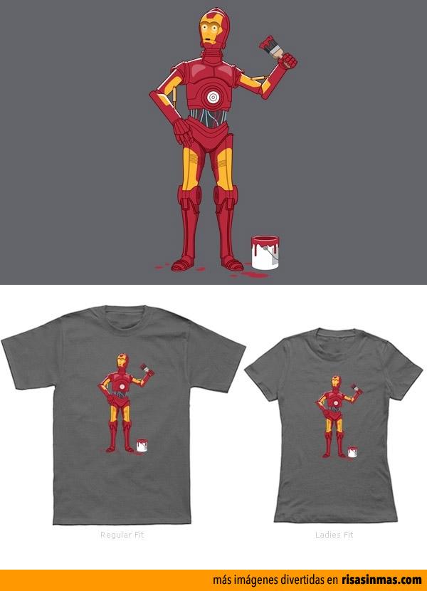 Camisetas originales: Iron Droid