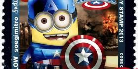 Capitán América versión Minion