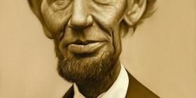 Caricatura de Abraham Lincoln