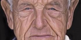 Caricatura de Andrew Wyeth