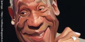 Caricatura de Bill Cosby