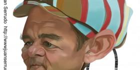 Caricatura de Bill Murray en Los cazafantasmas