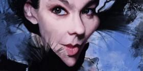 Caricatura de Björk