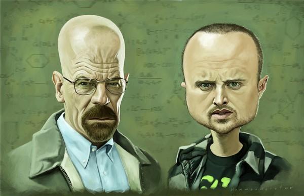 Caricatura de Breaking Bad