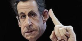 Caricatura de Nicolas Sarkozy