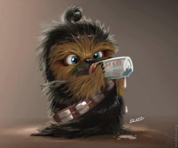 Chewbacca de bebé