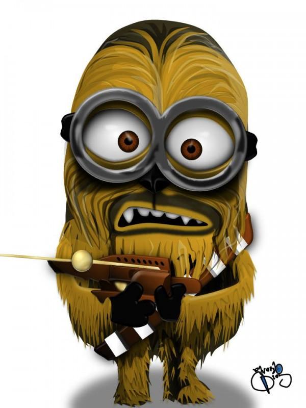 Chewbacca como Minion