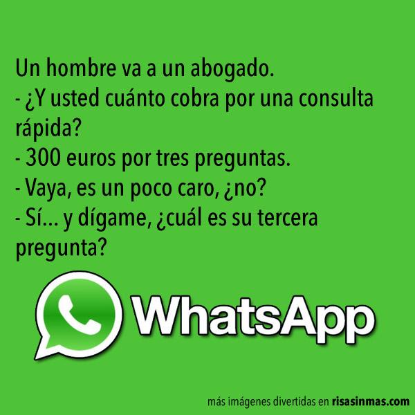 Chistes de WhatsApp: Abogados