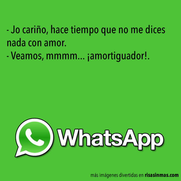 Chistes de WhatsApp: Amor