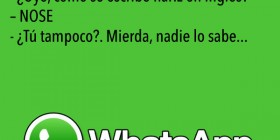 Chistes de WhatsApp: Inglés