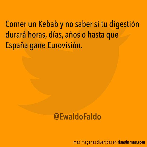 Comer un Kebab...