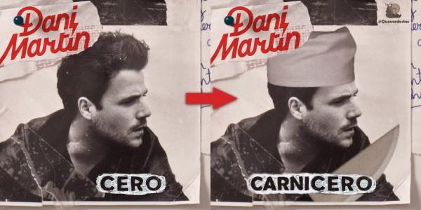 Dani Martín: Carnicero