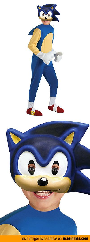 Disfraces horrorosos: Sonic the Hedgehog