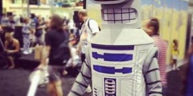Disfraces originales: Bender R2-D2