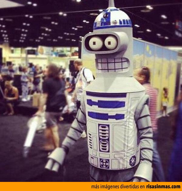 Disfraces originales: Bender R2-D2