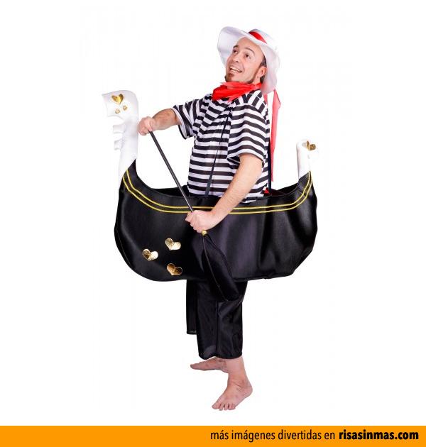 Disfraces originales: Gondolero