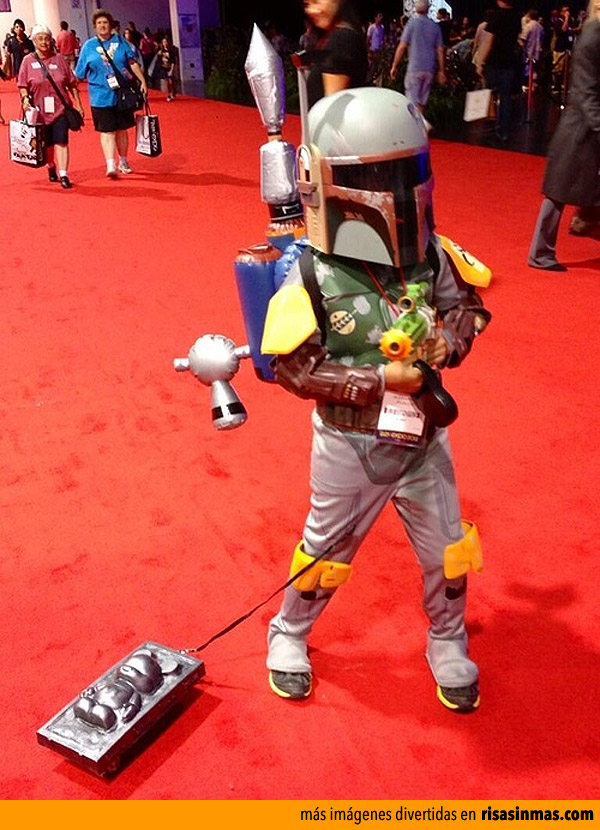 Disfraces originales: Mini Boba Fett