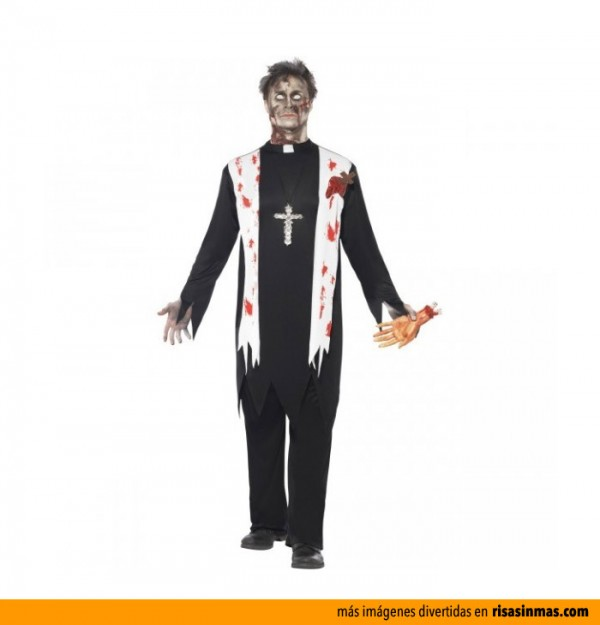 Disfraces para Halloween: Cura zombie