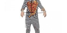 Disfraz de preso zombie