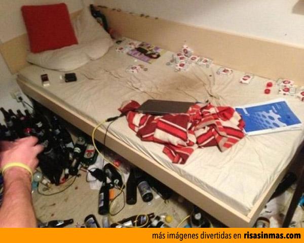 Dormitorio asqueroso