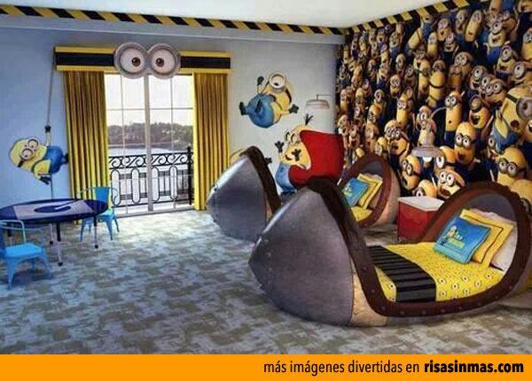 Dormitorio de Minions