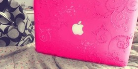 El MacBook de Hello Kitty