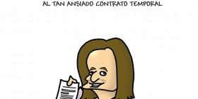 El ansiado contrato temporal