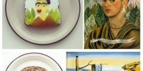 El arte hecho sandwich