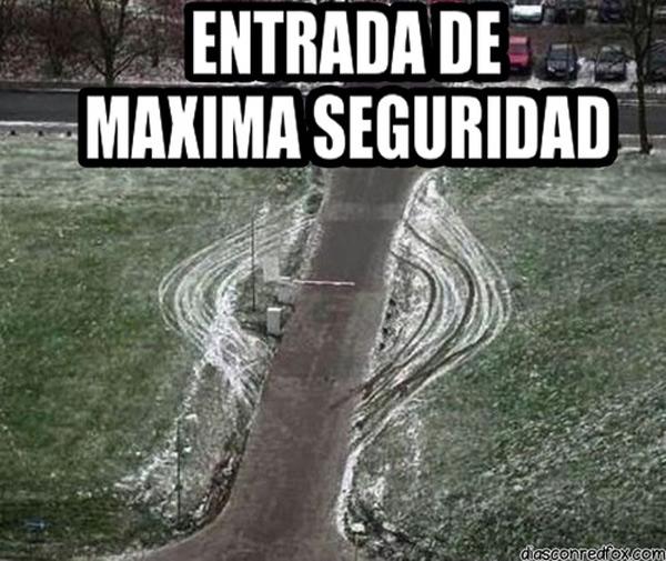 Entrada de máxima seguridad