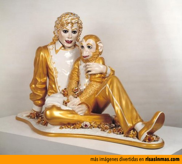 Estatuas horribles: Michael Jackson