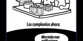 Evolución del cumpleaños
