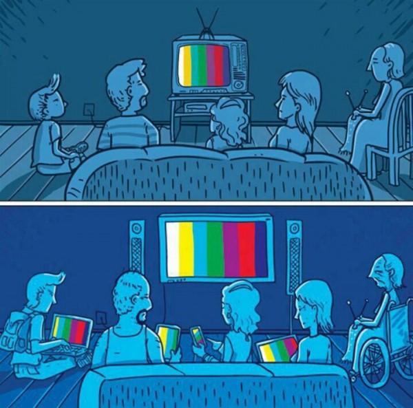 Evolución del entorno familiar