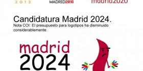Evolución del logotipo de Madrid olímpico