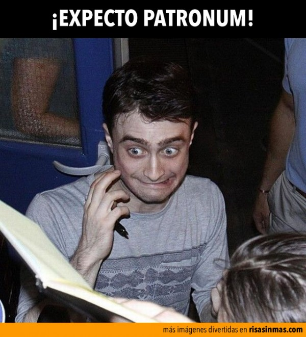 ¡Expecto Patronum!