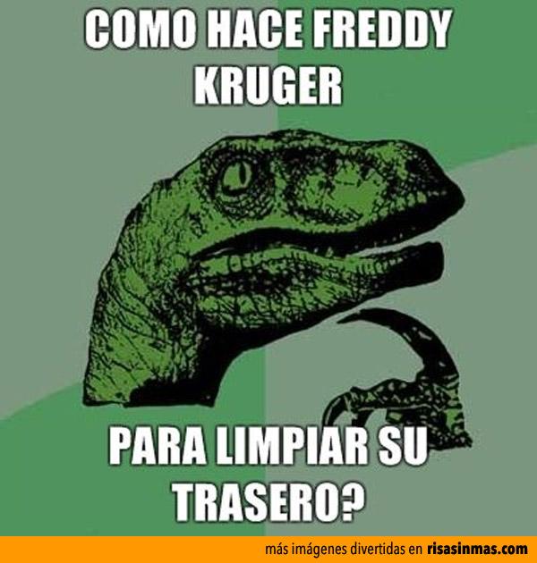 Filosoraptor y Freddy Krueger