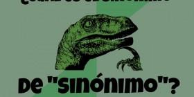 Filosoraptor y los sinónimos