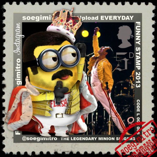 Freddy Mercury Minion